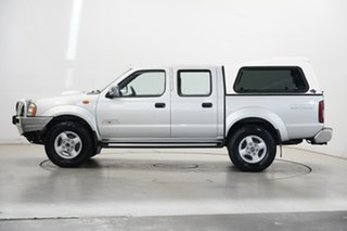 2014 Nissan Navara D22 S5 ST-R Silver 5 Speed Manual Utility.