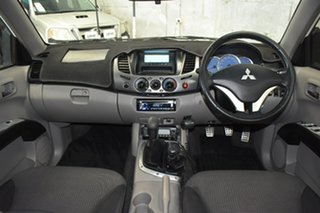 2007 Mitsubishi Triton ML MY08 GLX-R (4x4) White 5 Speed Manual 4x4 Double Cab Utility.