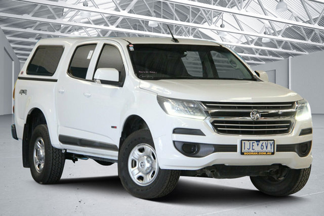 Used Holden Colorado RG MY16 LS (4x4) Altona North, 2016 Holden Colorado RG MY16 LS (4x4) White 6 Speed Automatic Crew Cab Pickup