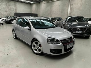 2005 Volkswagen Golf V GTI DSG Silver 6 Speed Sports Automatic Dual Clutch Hatchback.