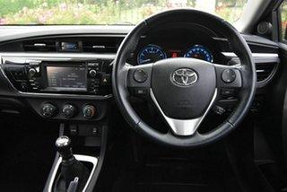 2015 Toyota Corolla ZRE172R SX Silver 6 Speed Manual Sedan