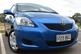 2014 Toyota Yaris NCP93R YRS Blue 4 Speed Automatic Sedan.