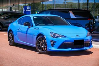 2018 Toyota 86 ZN6 GTS Apollo Blue Blue 6 Speed Manual Coupe.