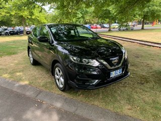 2018 Nissan Qashqai J11 Series 2 ST X-tronic Pearl Black 1 Speed Constant Variable Wagon.