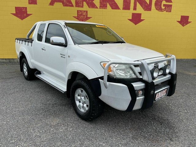 Used Toyota Hilux GGN25R MY05 SR5 Xtra Cab Winnellie, 2005 Toyota Hilux GGN25R MY05 SR5 Xtra Cab White 5 Speed Manual Utility