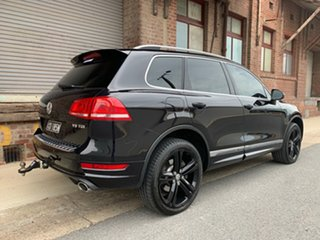 2014 Volkswagen Touareg 7P MY14 V8 TDI Tiptronic 4MOTION R-Line Black 8 Speed Sports Automatic Wagon.