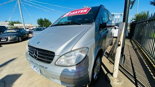 2008 Mercedes-Benz Viano 639 MY07 Ambiente Silver 5 Speed Automatic Wagon