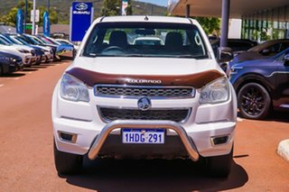 2014 Holden Colorado RG MY14 LTZ Space Cab White 6 Speed Manual Utility
