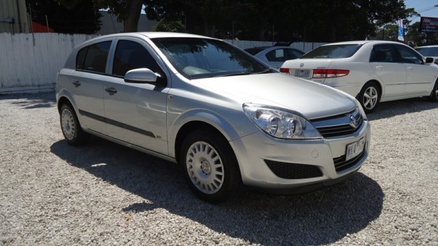 Used Holden Astra AH MY08 CD Seaford, 2008 Holden Astra AH MY08 CD Silver 4 Speed Automatic Hatchback