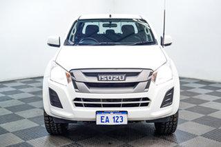 2017 Isuzu D-MAX MY17 SX Crew Cab White 6 Speed Sports Automatic Utility.