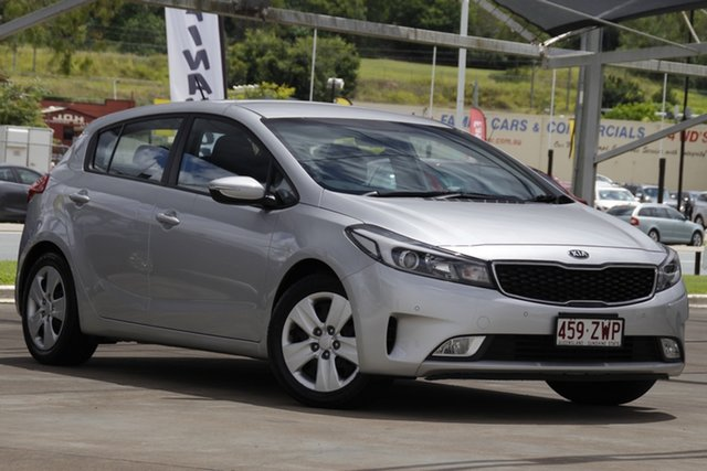 Used Kia Cerato BD MY19 S Bundamba, 2018 Kia Cerato BD MY19 S Silver 6 Speed Sports Automatic Hatchback