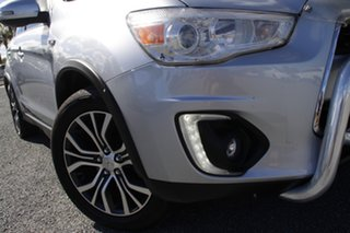 2015 Mitsubishi ASX XB MY15.5 XLS Cool Silver 6 Speed Sports Automatic Wagon.
