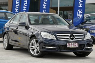 2011 Mercedes-Benz C-Class W204 MY11 C200 CDI BlueEFFICIENCY 7G-Tronic + Blue 7 Speed.