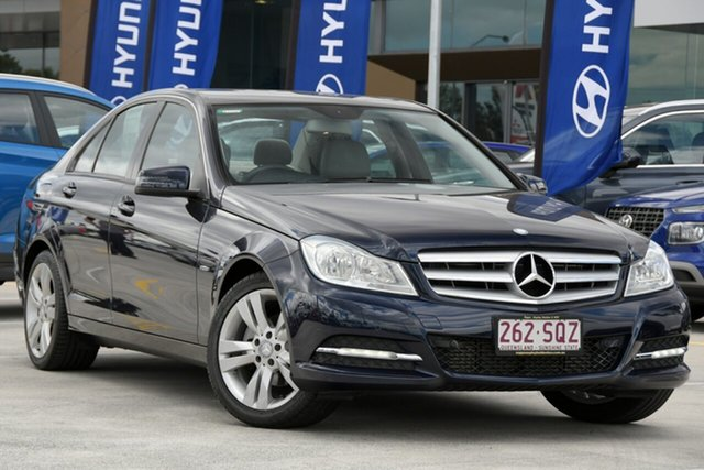 Used Mercedes-Benz C-Class W204 MY11 C200 CDI BlueEFFICIENCY 7G-Tronic + Aspley, 2011 Mercedes-Benz C-Class W204 MY11 C200 CDI BlueEFFICIENCY 7G-Tronic + Blue 7 Speed