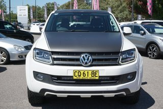 2015 Volkswagen Amarok 2H MY15 TDI420 4MOTION Perm Canyon Candy White 8 Speed Automatic Utility.