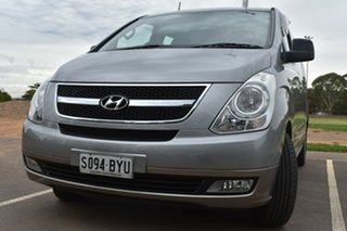 2010 Hyundai iMAX TQ-W Selectronic Silver 5 Speed Sports Automatic Wagon.