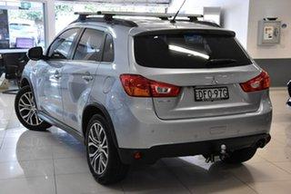 2016 Mitsubishi ASX XB MY15.5 LS 2WD Silver 5 Speed Manual Wagon.