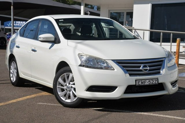 Used Nissan Pulsar B17 ST North Gosford, 2013 Nissan Pulsar B17 ST White 6 Speed Manual Sedan