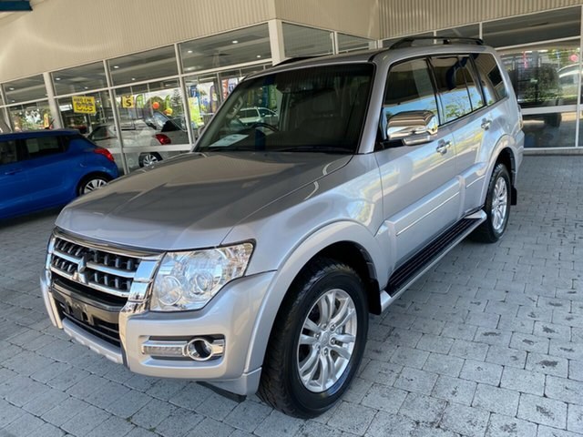 Used Mitsubishi Pajero NX MY16 Exceed Taree, 2016 Mitsubishi Pajero NX MY16 Exceed Silver 5 Speed Sports Automatic Wagon