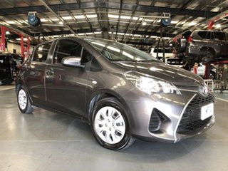 2016 Toyota Yaris NCP130R MY15 Ascent Graphite 4 Speed Automatic Hatchback.
