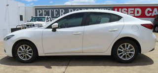 2017 Mazda 3 Maxx White 6 Speed Manual Sedan