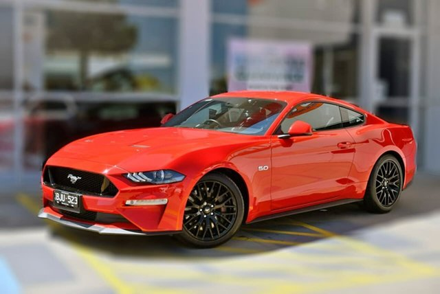 Used Ford Mustang FN 2018MY GT Fastback SelectShift Berwick, 2018 Ford Mustang FN 2018MY GT Fastback SelectShift Red 10 Speed Sports Automatic Fastback
