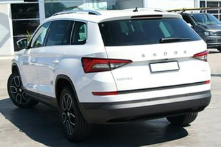 2021 Skoda Kodiaq NS MY21 132TSI DSG Moon White 7 Speed Sports Automatic Dual Clutch Wagon.