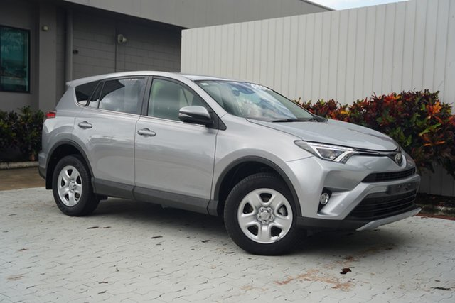 Used Toyota RAV4 ALA49R GX AWD Cairns, 2017 Toyota RAV4 ALA49R GX AWD Silver 6 Speed Sports Automatic Wagon