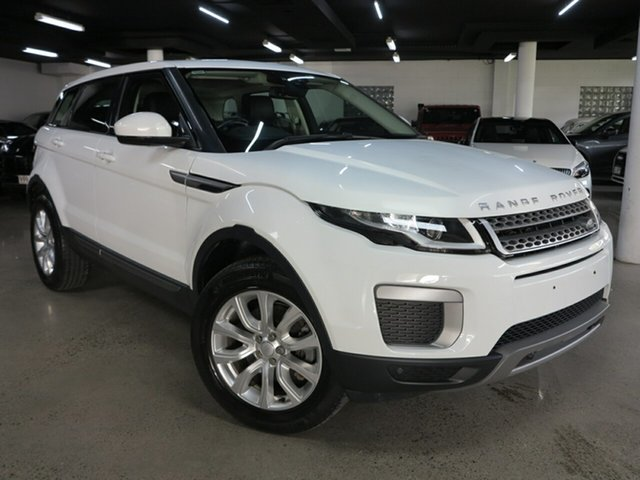 Used Land Rover Range Rover Evoque L538 MY16.5 TD4 150 SE Albion, 2016 Land Rover Range Rover Evoque L538 MY16.5 TD4 150 SE White 9 Speed Sports Automatic Wagon