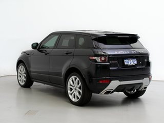 2012 Land Rover Range Rover Evoque LV TD4 Dynamic Sumatra Black 6 Speed Automatic Wagon