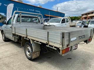 2005 Toyota Hilux GGN15R MY05 SR 4x2 Silver 5 Speed Manual Cab Chassis