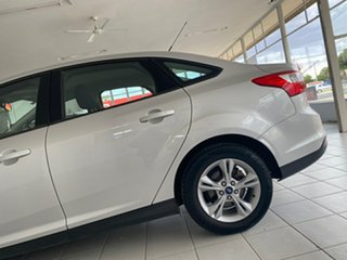 2013 Ford Focus LW MK2 Trend White 6 Speed Automatic Sedan