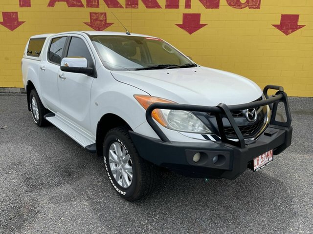 Used Mazda BT-50 UP0YF1 XT Winnellie, 2013 Mazda BT-50 UP0YF1 XT White 6 Speed Sports Automatic Utility