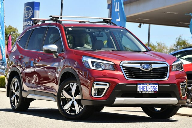 Used Subaru Forester S5 MY20 2.5i-S CVT AWD Melville, 2020 Subaru Forester S5 MY20 2.5i-S CVT AWD Crimson Red 7 Speed Constant Variable Wagon