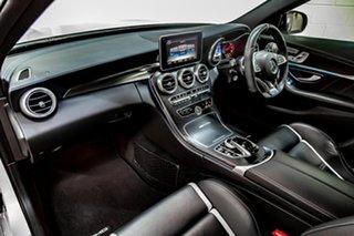 2017 Mercedes-Benz C-Class S205 807+057MY C63 AMG Estate SPEEDSHIFT MCT S Silver 7 Speed.