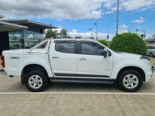 2012 Holden Colorado RG MY13 LTZ Crew Cab White 5 Speed Manual Utility.