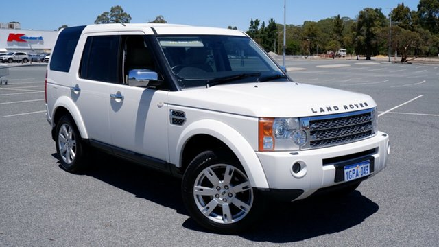 Used Land Rover Discovery 3 Series 3 09MY SE Maddington, 2009 Land Rover Discovery 3 Series 3 09MY SE White 6 Speed Sports Automatic Wagon
