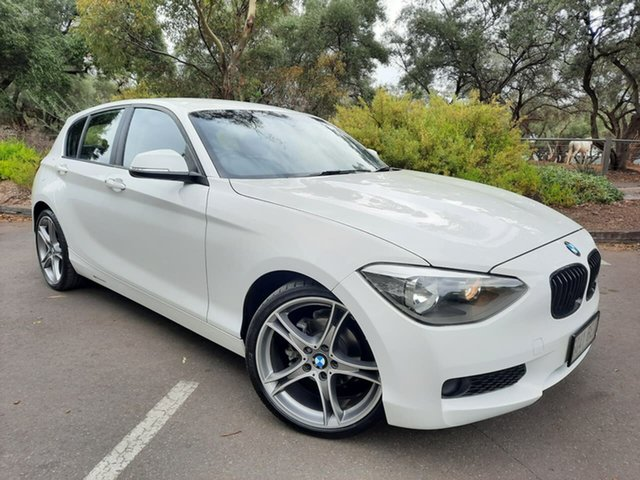 Used BMW 1 Series F20 MY0314 116i Steptronic Adelaide, 2014 BMW 1 Series F20 MY0314 116i Steptronic White 8 Speed Sports Automatic Hatchback