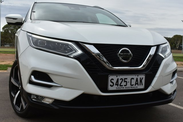Used Nissan Qashqai J11 Series 2 Ti X-tronic St Marys, 2019 Nissan Qashqai J11 Series 2 Ti X-tronic White 1 Speed Constant Variable Wagon