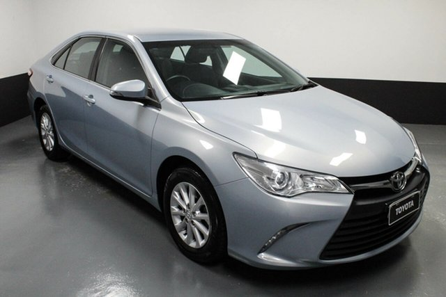 Used Toyota Camry ASV50R Altise Rutherford, 2017 Toyota Camry ASV50R Altise Blue 6 Speed Sports Automatic Sedan