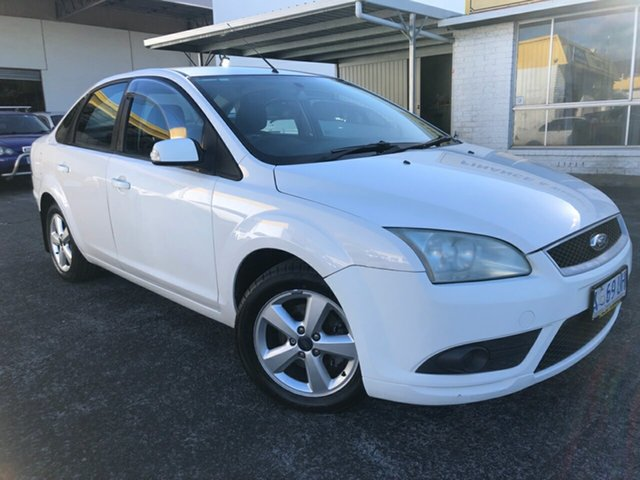 Used Ford Focus LS CL Derwent Park, 2006 Ford Focus LS CL White 4 Speed Sports Automatic Sedan