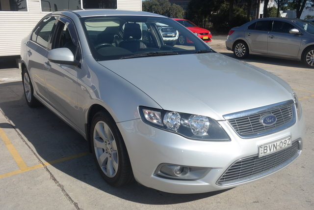Used Ford Falcon FG G6 Maryville, 2010 Ford Falcon FG G6 Silver 6 Speed Sports Automatic Sedan