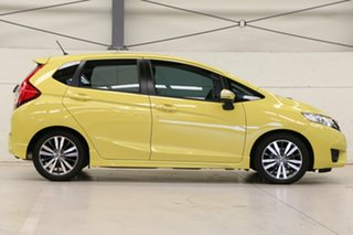 2014 Honda Jazz GF MY15 VTi-L Attract Yellow 1 Speed Constant Variable Hatchback