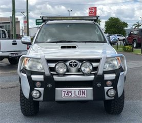 2007 Toyota Hilux KUN26R SR5 Silver 4 Speed Automatic Utility.