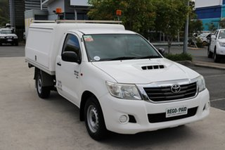 2013 Toyota Hilux KUN16R MY12 SR 4x2 Glacier 5 speed Manual Cab Chassis.