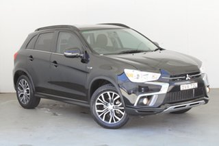 2018 Mitsubishi ASX XC MY18 LS 2WD Black 1 Speed Constant Variable Wagon.