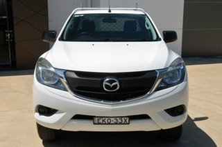 2016 Mazda BT-50 UR0YG1 XT Freestyle 4x2 Hi-Rider White 6 Speed Manual Cab Chassis