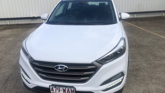 Used Hyundai Tucson TL Active X 2WD Moorooka, 2015 Hyundai Tucson TL Active X 2WD White 6 Speed Sports Automatic Wagon