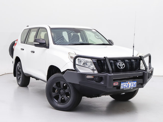 Used Toyota Landcruiser Prado KDJ150R MY14 GX (4x4), 2014 Toyota Landcruiser Prado KDJ150R MY14 GX (4x4) White 5 Speed Sequential Auto Wagon