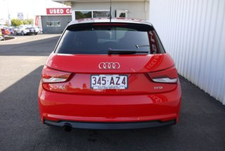 2015 Audi A1 8X MY15 Sportback S Tronic Red 7 Speed Sports Automatic Dual Clutch Hatchback